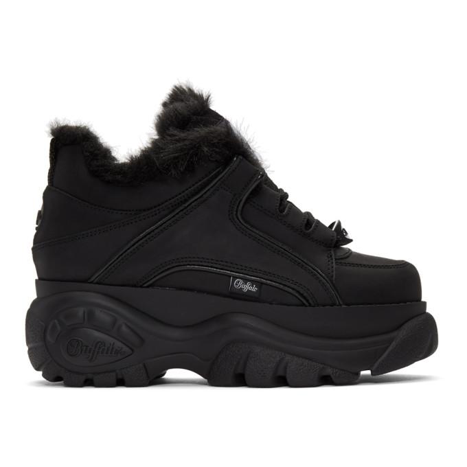 Image of Junya Watanabe Black Buffalo London Edition Platform Sneakers