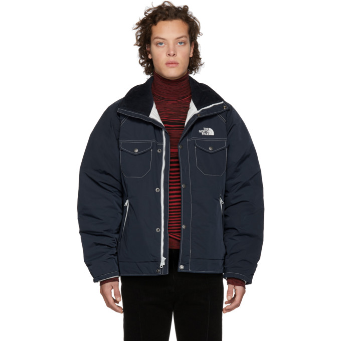 Junya Watanabe Navy The North Face Edition WB-J405 Jacket