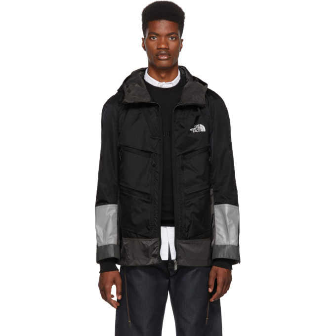 Junya Watanabe Black & Grey The North Face Edition Trail Pack Jacket