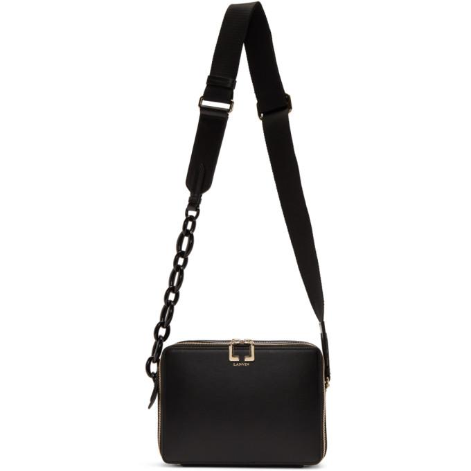 Lanvin Black Small Camera Bag