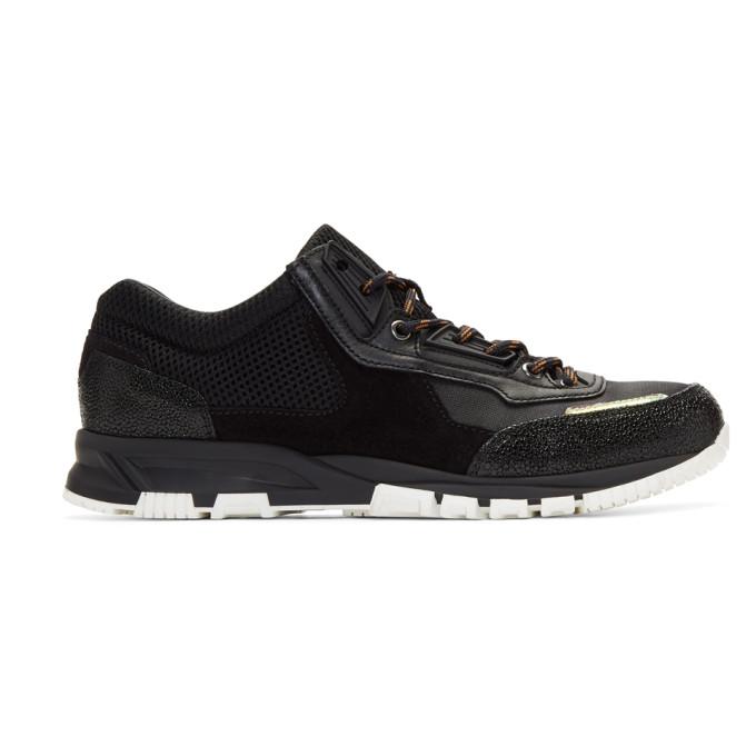 Lanvin Black Sport Sneakers