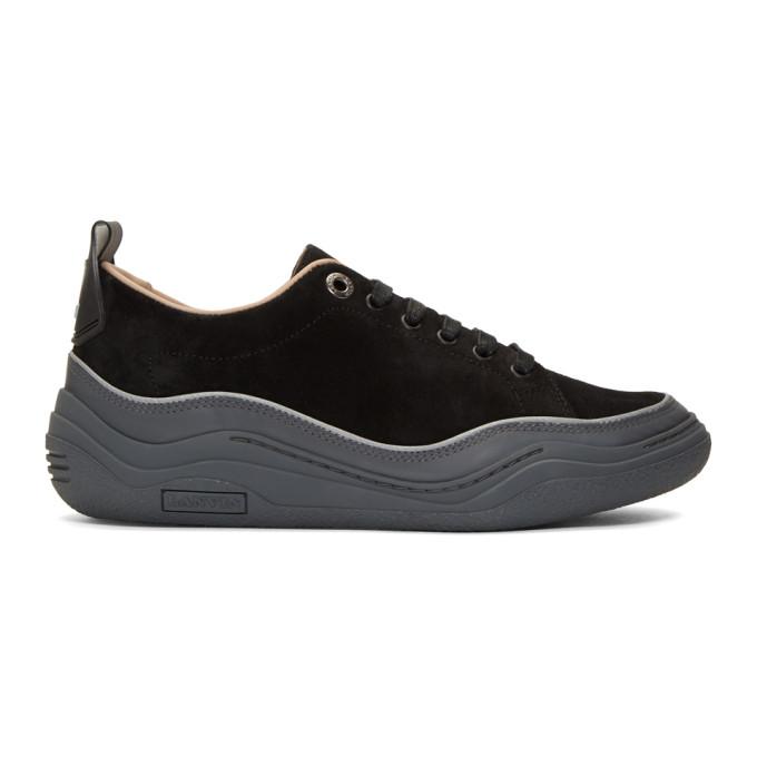 Lanvin Black Diving Sneakers
