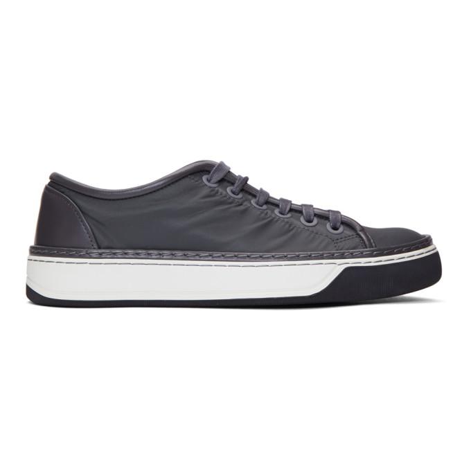 Lanvin Black Nylon Sneakers