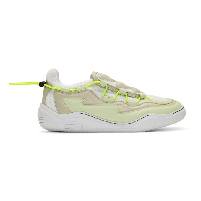 Lanvin White Top Diving Sneakers