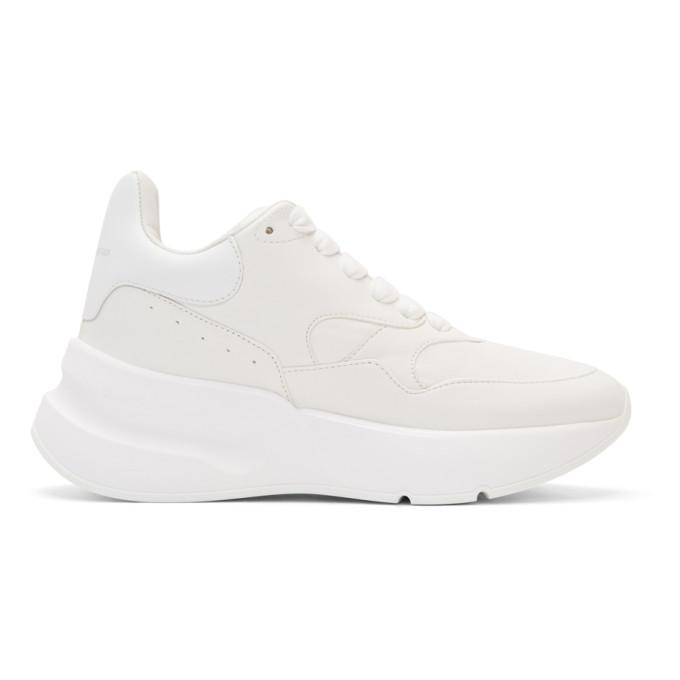 Alexander McQueen White Runner Sneakers