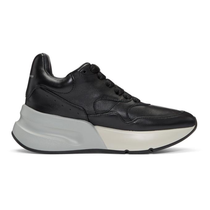 Alexander McQueen Black Runner Sneakers