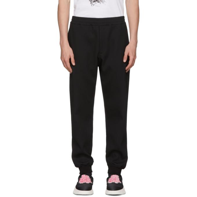 Alexander McQueen Pantalon de survetement noir Sport Jogger