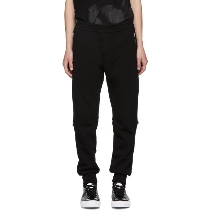 Alexander McQueen Pantalon de survetement noir Jogger