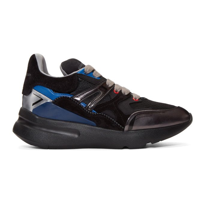 Alexander McQueen Black Multi Cocktail Sneakers