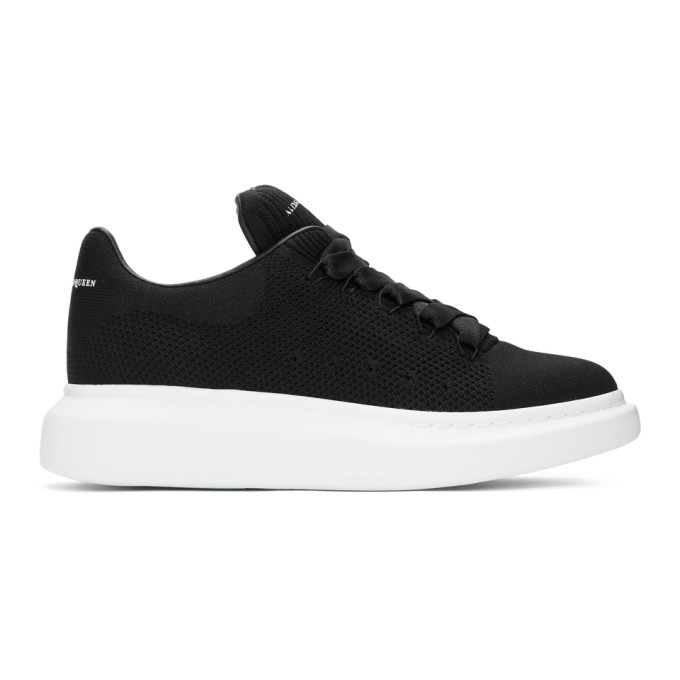 Alexander McQueen Black New Knit Sneakers