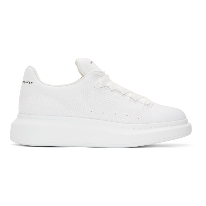 Alexander McQueen White New Knitted Sneakers