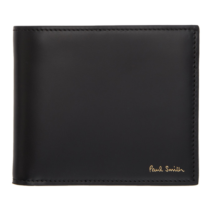 Image of Paul Smith Black Bifold Naked Lady Wallet