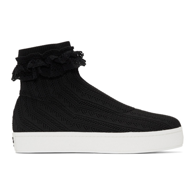 Opening Ceremony Black Bobby Lace Sneakers