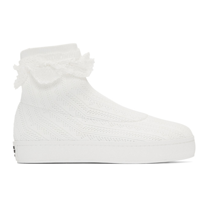 Opening Ceremony White Bobby Lace Sneakers