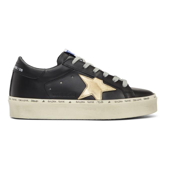 Golden Goose Black Hi Star Platform Sneakers