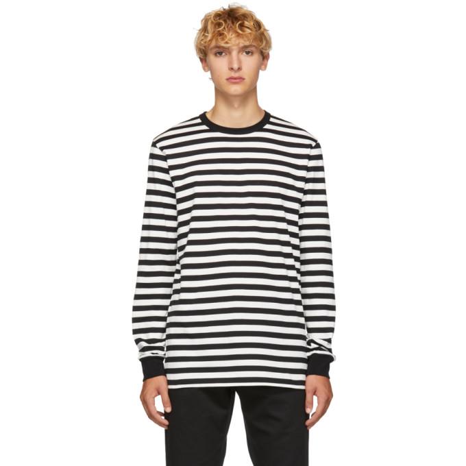 16b67370 Golden Goose Black and White Stripes T Shirt