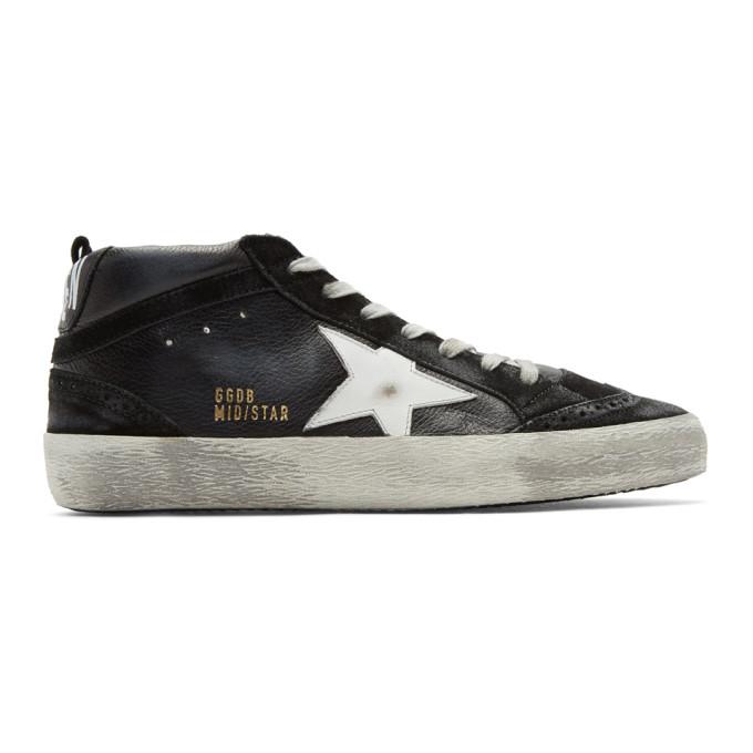 Golden Goose Black & White Superstar Sneaker
