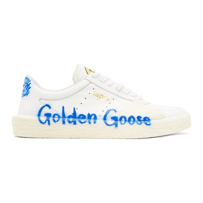 Golden Goose White Tenthstar Bluette Sneakers