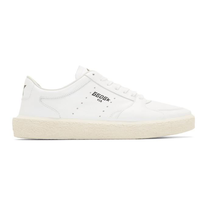 Golden Goose White Thentstar Sneakers