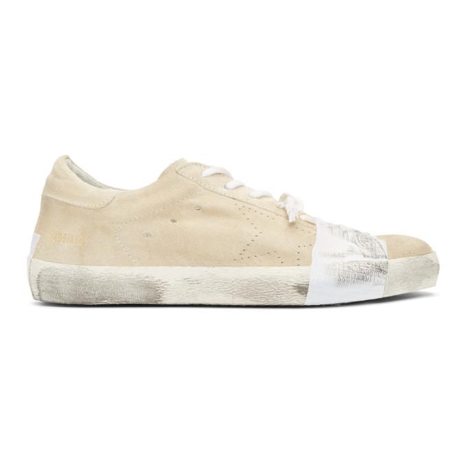 Golden Goose Beige Scotch Superstar Sneakers