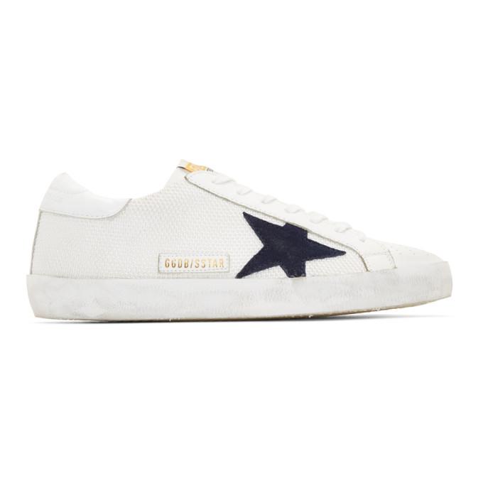 Golden Goose White Cord Superstar Sneakers