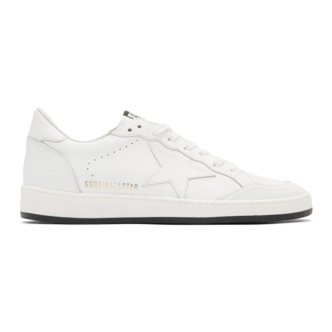 Golden Goose White Ball Star Sneakers