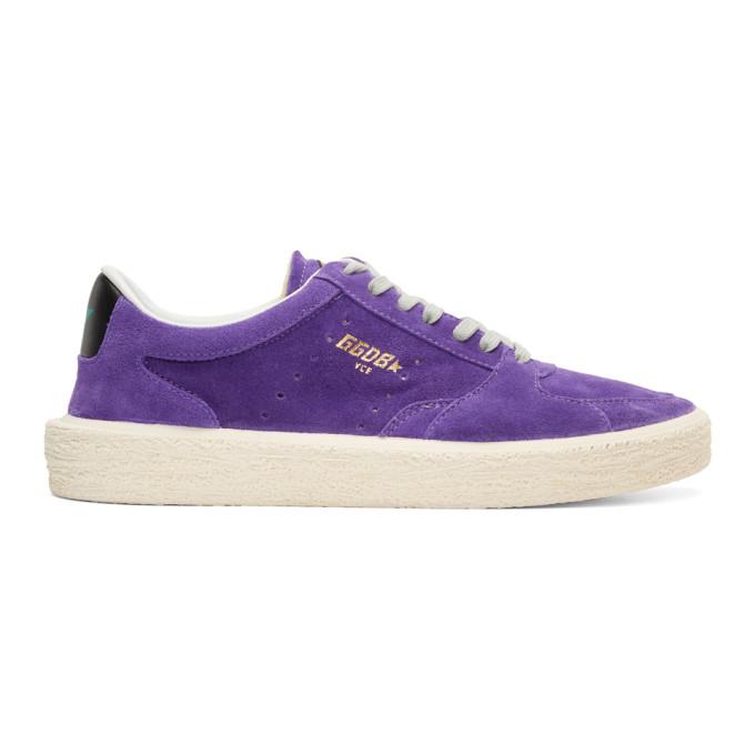 Golden Goose Purple Tenth Star Sneakers