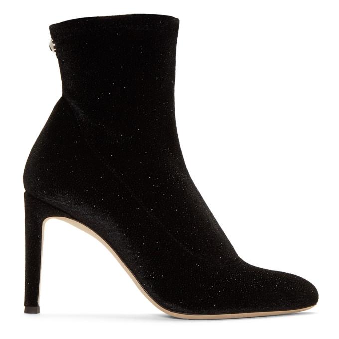 112b2c8530d67 Giuseppe Zanotti Black Bimba 90 Sparkle Boots