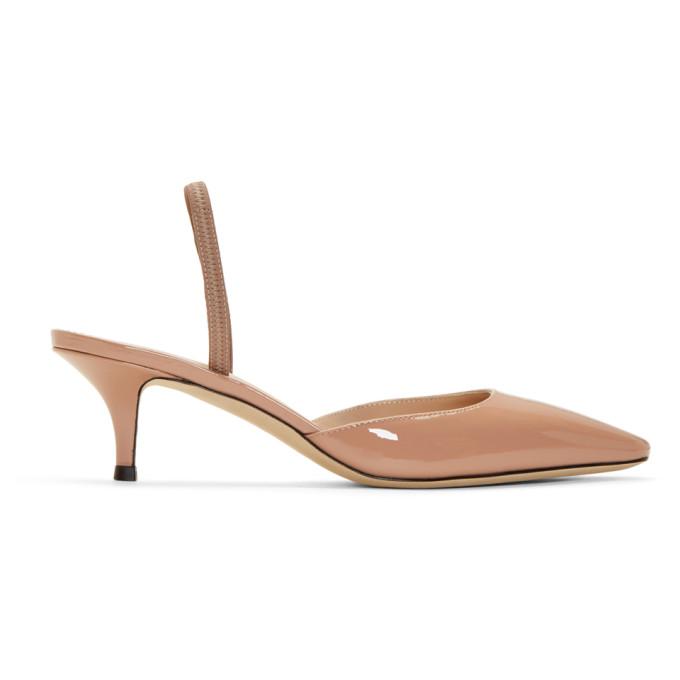 Giuseppe Zanotti Pink Patent Notte 50 Heels