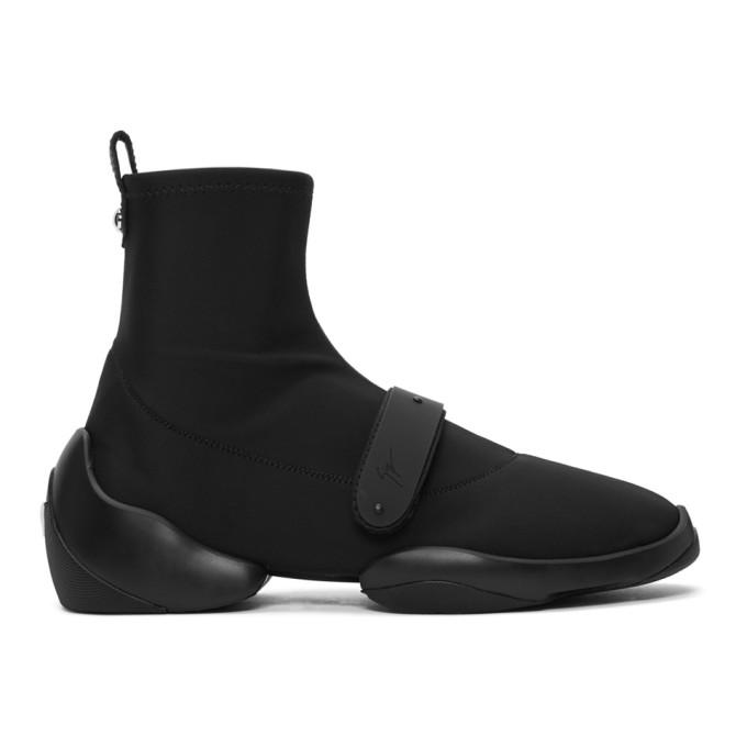 Giuseppe Zanotti Black Light Jump Carlito Sneakers