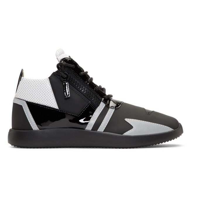 Giuseppe Zanotti Black Single Ulan High-Top Sneakers