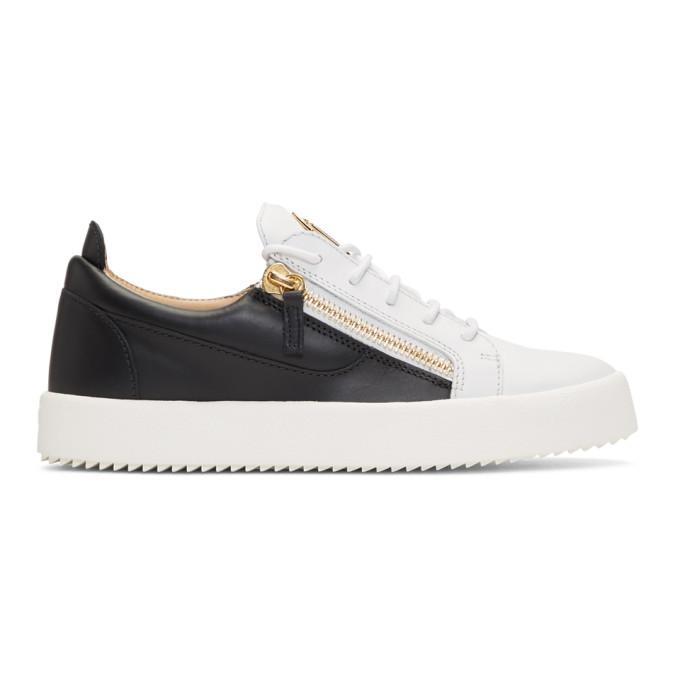 Giuseppe Zanotti White & Black May London Sneakers