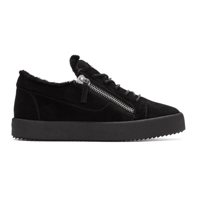 Giuseppe Zanotti Black Sensory May London Sneakers