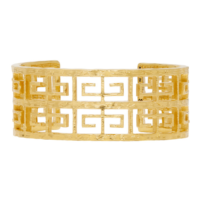 Givenchy Gold 4G Small Cuff Bracelet
