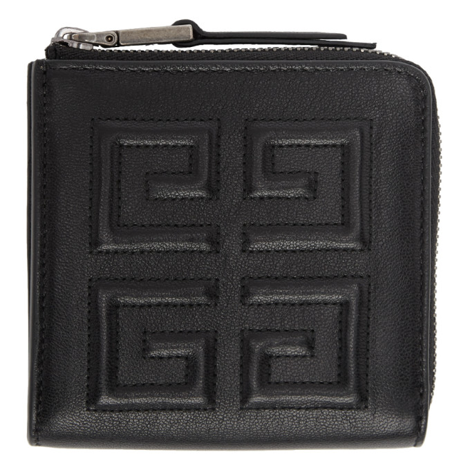 12feb31e747 Givenchy Black Medium 4G Wallet