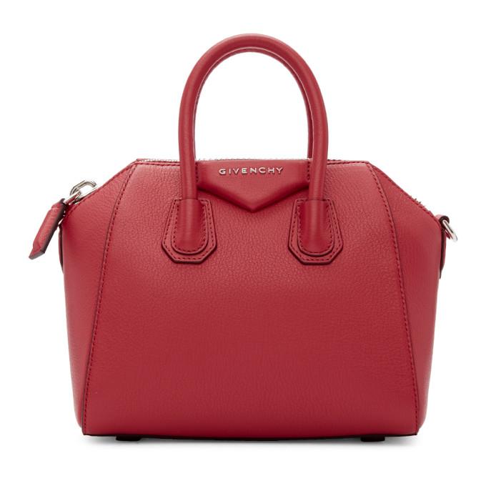 Givenchy Pink Mini Antigona Duffle Bag