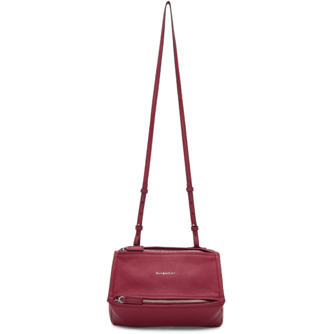 Givenchy Red Mini Pandora Bag