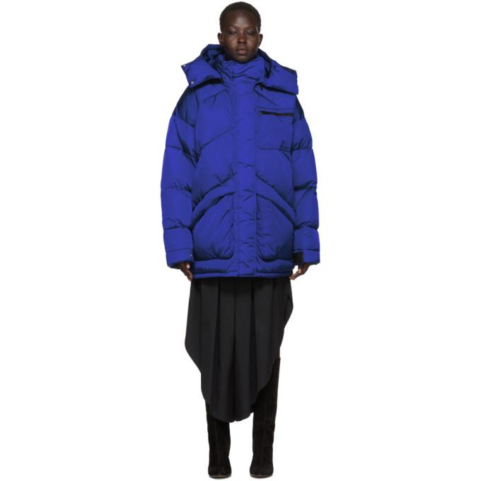 Givenchy Blue Nylon Small 4G Jacket