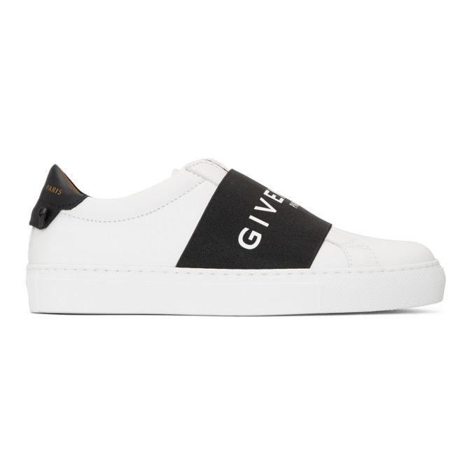 Givenchy White & Black Urban Knots Sneakers