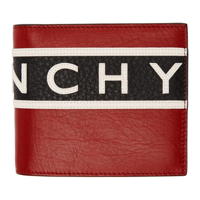 Givenchy トリコロール リバース ロゴ ウォレット