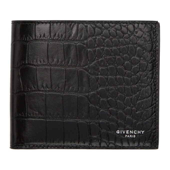 Givenchy ブラック クロック 8CC ウォレット