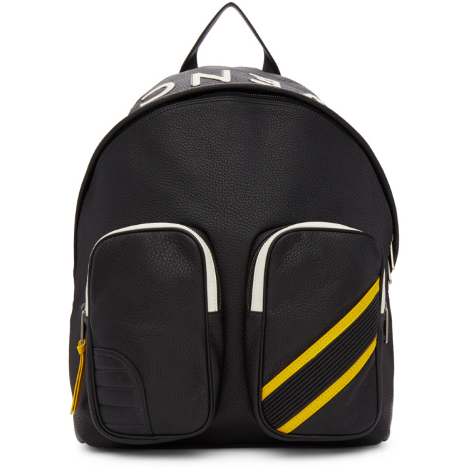Givenchy Black MC3 Reverse Backpack