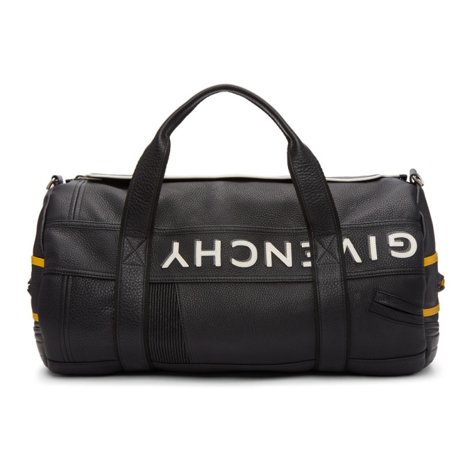 Givenchy Black & Yellow MC3 Reverse Duffle Bag
