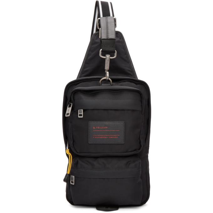 Givenchy Black Nylon UT3 Crossbody Bag
