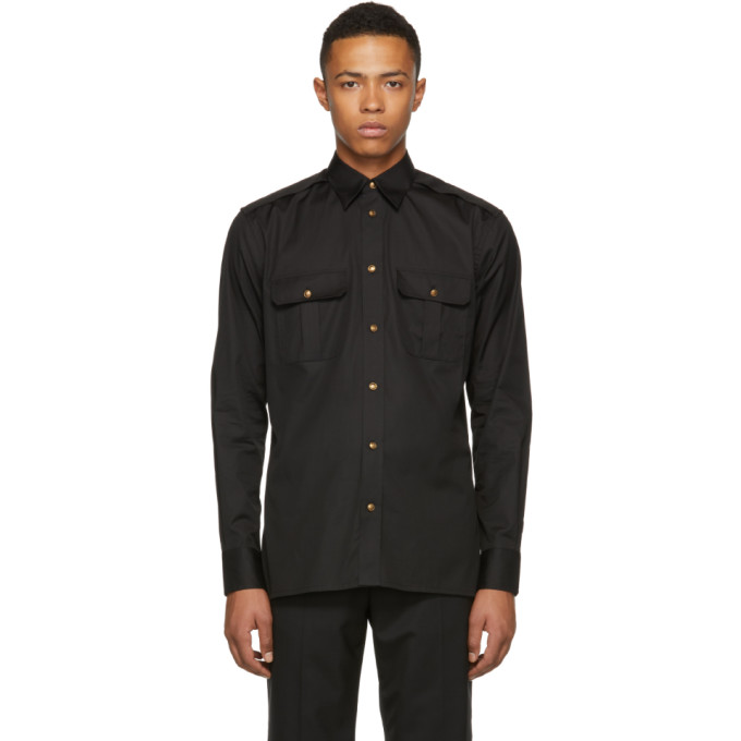 Givenchy ブラック 4G シャツ