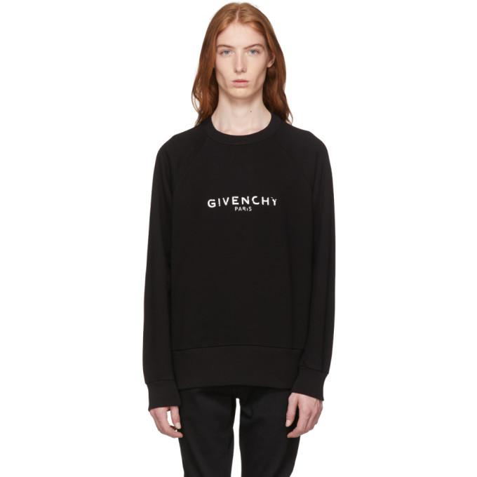 Givenchy Black Vintage Fit Logo