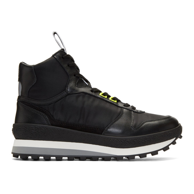 Givenchy Black TR3 Runner High-Top Sneakers