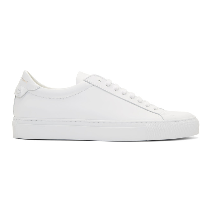 Givenchy White Urban Street Sneakers