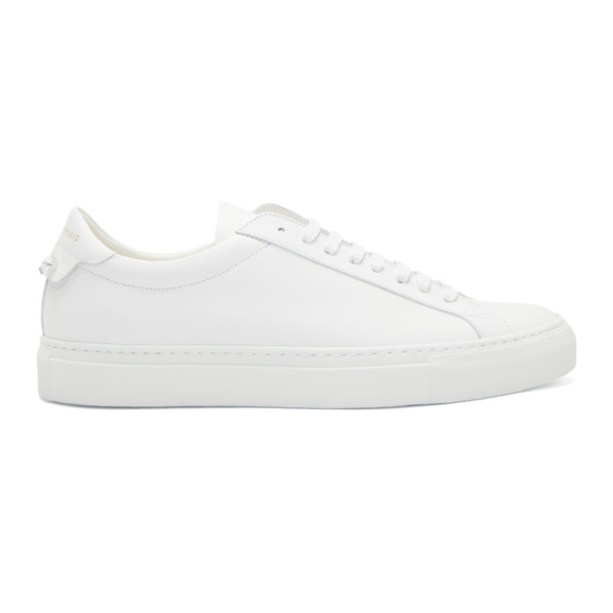 Givenchy White Urban Knot Sneakers