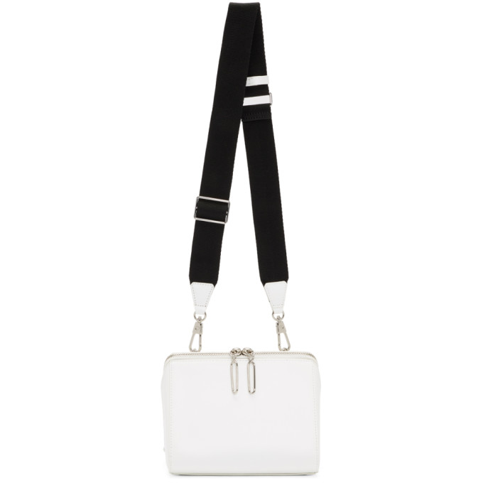 31 Phillip Lim White Ray Triangle Bag